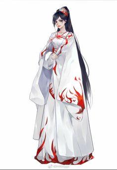 🐰Joke, Sweet and Romance moments of MDZS characters. 🐰Photos are … # Random # amreading # books # wattpad Female Character Design, Character Art, Chinese Style, Chinese Art, Chinese Painting, Vestidos Anime, Art Kawaii, Chica Fantasy, Anime Dress