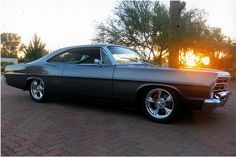 1967 FORD GALAXIE 500 CUSTOM 2 DOOR HARDTOP - Side Profile - 162594