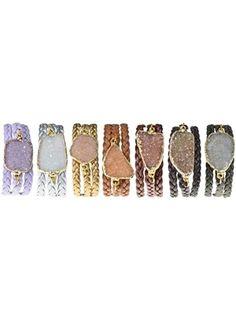 Stone wrap bracelets. I need these! accessories-purses-shoes-etc