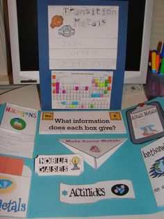 periodic table lapbook