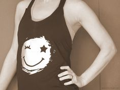 Zumba Shirt mit coolem Smiley