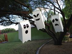 Turn your old milk cartons into cute ghosts | Box Play for Kids