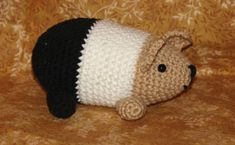 Guinea pig measures about 8 inches long when completed.