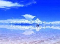 Salt plain, Salar de Uyuni, Bolivia