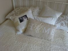 Beautiful neutral quilt, machine quilt all over pattern called Flounce - Nicola Foreman's blog