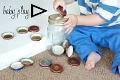 Re-use baby food jars. Visit the blog for more ideas! Thanks @calikatrina!  http://agirlintransit.blogspot.com/2012/07/diy-guest-post-from-calikatrina.html