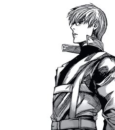 Is it just me or does Arima look kinda sexy... maybe because he looks like an adult Kaneki