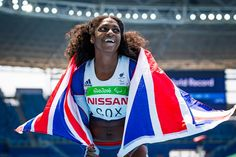 Kadeena Cox - gold in the 400m T38