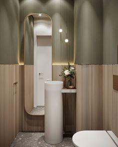 Minimalist Interior, Modern Interior, Bathroom Basin Cabinet, Bathroom Interior Design, Interior Decorating, Toilet Room, Apartment Interior, Cabinet Design, Interior Design Inspiration