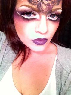 Makeup/avant garde makeup