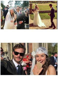 """Dornan's wedding "" Jamie Dornan and Amelia Warner"