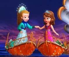Sofia The First Cartoon, Sofia The First Characters, Princess Sofia The First, Disney Princess Fashion, Disney Princess Frozen, Disney Princess Dresses, Old Disney, Disney Fan Art, Disney Pixar