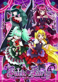 Dark Pretty Cure, Dark Dream, Bibury, Regina, and Inu Futari Wa Pretty Cure, Pretty And Cute, Star Images, Wallpaper, All Anime, Kawaii, Art, Anime, Magical Girl