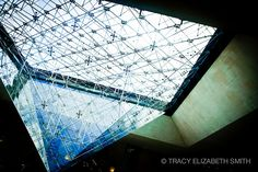 Upside down pyramid in Paris by tracyelizabethsmith, via Flickr