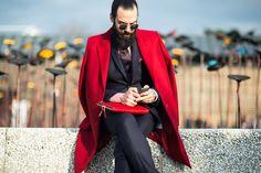 Photos: See Pitti Uomo Fall 2014 Street Style | W Magazine