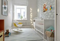 Today we take a look at 21 Best Scandinavian Nursery Design Ideas that embrace this timeless style with exquisite modern flair. Scandinavian Nursery, Scandinavian Interior, Scandinavian Style, Baby Bedroom, Baby Boy Rooms, Kids Bedroom, Childrens Bedroom, Ideas Habitaciones, Nursery Design