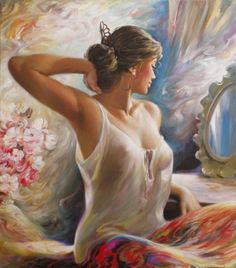 A fun image sharing community. Explore amazing art and photography and share your own visual inspiration! Woman Painting, Figure Painting, Portraits, Art Academy, Mirror Art, Erotic Art, Figurative Art, Female Art, Art History