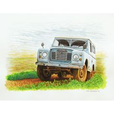 AWESOME personalized vehicle paintings! Immortalize your 4x4 in a work of art... http://www.awesome4x4stuff.com/personalized-vehicle-paintings-541-p.asp