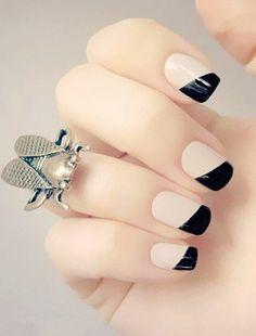 idee deco ongle, un joli modele ongle gel, les ongles beiges