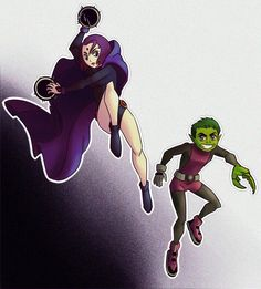 Hey Teen Titans fandom, remember me? I suddenly got super back into TT, and thus have drawn my first BBRae fanart in OVER 6 YEARS. Raven Beast Boy, Bbrae, Old Shows, Still Standing, Young Justice, Teen Titans, 6 Years, Disney Characters, Fictional Characters