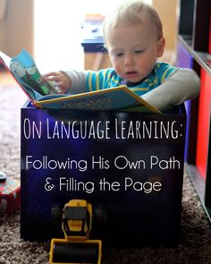 On Language Learning - Following His Own Path and Filling the Page by Crafting Connections - Pinned by @PediaStaff – Please Visit ht.ly/63sNtfor all our pediatric therapy pins