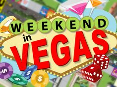 """""""Weekend In Vegas"""" by Ahead of the Curve, LLC, via Kickstarter.Weekend in Vegas is the next great board game to come out. Funding on Kickstarter now. Check it out."""