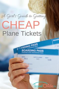Guide to getting cheap plane tickets