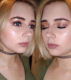 #makeup #gold #highlight #glow #naturalmakeup #dontjudgemyeyebrowsimgrowingthemout #polishgirl #aupair #gold #brown #blonde