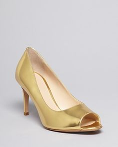 MaxMara Open Toe Evening Pumps - Ebrri Mid Heel | Bloomingdale's