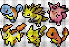 pokemon perler bead patterns
