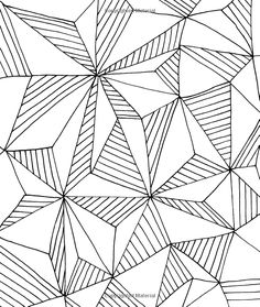 Just Add Color: Geometric Patterns: 30 Original Illustrations To Color, Customize, and Hang: Lisa Congdon: 9781592539451: Amazon.com: Books