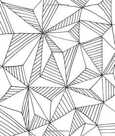Dibujos geométricos para colorear e imprimir gratis