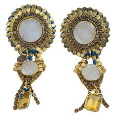 Solaris Clip Earrings   de petra