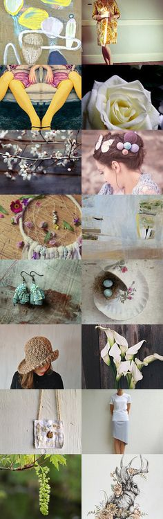 Welcome Spring by 3buu on Etsy--Pinned+with+TreasuryPin.com