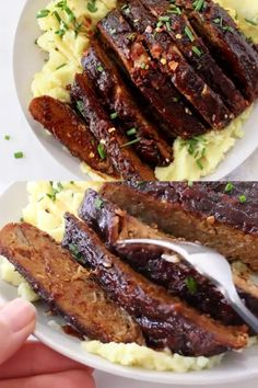 The best barbecue vegan ribs made with tender meaty jackfruit, wheat gluten and all the traditional smoky BBQ spices Best Gluten Free Recipes, Rib Recipes, Entree Recipes, Delicious Vegan Recipes, Veggie Recipes, Vegetarian Recipes, Veggie Food, Vegetarian Grilling, Healthy Grilling Recipes