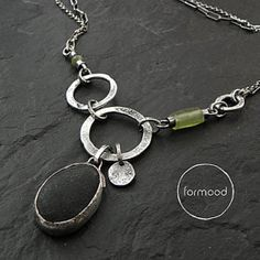 Handmade sterling silver jewelry by studioformood on Etsy