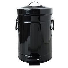 Cesto de basura 3 lt metal $120 (toilette, baño chicos?)
