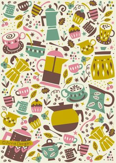 Coffee and Cakes on Behance
