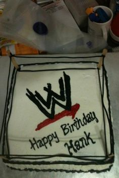 Wwe Party Ideas On Pinterest Wwe Wwe Cake And Wrestling