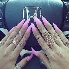 #ring#pink#nail