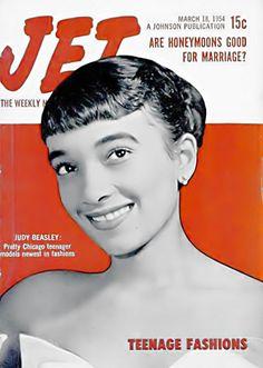 Judy Beasley Models Teenage Fashions - Jet Magazine, March… | Flickr