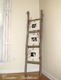 Rustique photo Ladder - 40 Idées rustique Home Decor Vous pouvez construire vous même