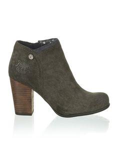 Tommy Hilfiger Jade - grau - Gratis Versand | Schuhe | Boots & Stiefeletten | Online Shop | 1623606584