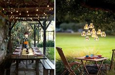 25 inspiring ways to organize atmospheric outdoor lighting - Comfortable home