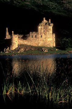 Kilchurn Castle. Scotland