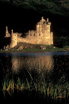 Kilchurn Castle. Scotland