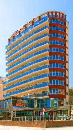 Hotel RH Gijón - Fachada Multi Story Building, Exterior, Cozy, Walks, Hotels, Outdoor Rooms