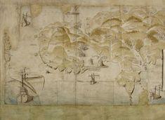 Untitled - caption: 'Map of Cornish coastline' | Flickr - Photo Sharing!