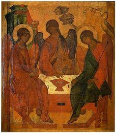 Trinidad, 1 Maccabees, Hagia Sophia, Serbian, Bulgarian, Fresco, Jesus Christ, History, Ikon