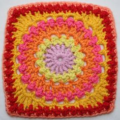 Circle of Friends motif free crochet pattern